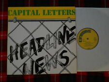 Capital Letters Headline News LP-washed & cleaned