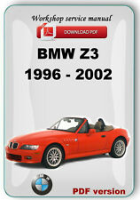 BMW Z3  1996 - 2002 Complete Factory Service Repair Manual