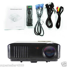 3500lumens 3d Smart Projector HD 1080p Short Throw Home Business HDMI VGA TV USB