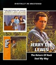 The Return of Rock/Soul My Way by Jerry Lee Lewis (CD, Apr-2013, Beat Goes On)