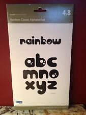 Quickutz Rainbow 4 X 8 All-on-one Die Alphabet