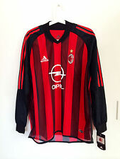 AC MILAN 2002-03 HOME LS PLAYER ISSUE CLIMACOOL JERSEY TRIKOT MAGLIA