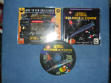 STAR WARS X WING VS TIE FIGHTER BALANCE OF POWER CAMPAIGNS LucasArts PC GAME