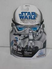 MOC STAR WARS LEGACY COLLECTION CLONE TROOPER CORUSCANT FIGURE 2008 HASBRO