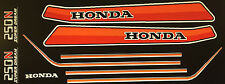 HONDA CB250N PAINTWORK DECAL SET
