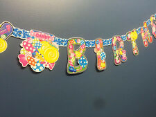 Party Bunting Banners Flags Party Garland Birthday Hanging Decoration Candy