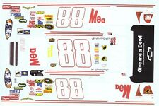 #88 Dale Earnhardt jr Mountain Dew Retro 2008 1/25th - 1/24th Scale Decals