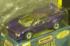 Matchbox Premiere Collection purple Lamborghini Countach World Class Series 10