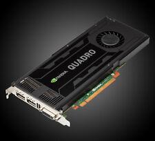 Nvidia Quadro K4000 | 3 GB GDDR5 | DVI + 2x DP (4K) | 768 Prozessorkerne