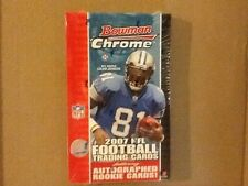 2007 BOWMAN CHROME FOOTBALL Factory Sealed HOBBY Box Peterson Megatron Lynch ?