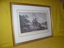 famille dans la baye Dusky nouvelle zélande voyage Capitaine Cook gravure
