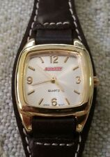 DICKIES Watch w Leather Band Serviced w Brand New Battery