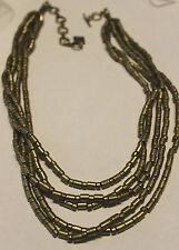 Leonardi Arte Kette Collier mehrreihig goldfarbend Nr. 1184G-CO-1 Sofia