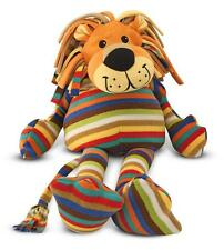 MELISSA AND DOUG BEEPOSH ELVIS LION PLUSH STRIPED SOFT TOY GIFT NEW