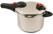 NuWave Stainless Steel Pressure Cooker, 6.5-Quart