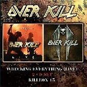 Killbox 13 + Wrecking Everything Live, Overkill, Very Good Condition CD