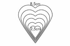 Tescoma Delícia Heart-Shaped 6-Piece Cookie Cutters -  631362