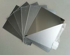 3mm  ACRYLIC MIRROR 150mm x 150mm  SHEET PERSPEX PLEXIGLASS SAFETY PANELS