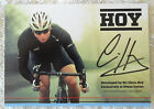 RARE SIR CHRIS HOY SIGNED IN PERSON 10 x 15 cm PROMO CARD COA OLYMPIC LEGEND