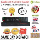 ORIGINAL ZGEMMA STAR 2S SATELLITE RECEIVER TWIN DVB-S2 TUNER ENIGMA FREE TO AIR
