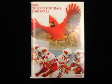 1980 St. Louis Cardinals NFL Media Guide