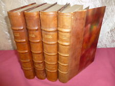 JEAN CHRISTOPHE Romain Rolland 4 volumes complet Nouvelle Edition
