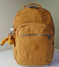 Kipling BP3020 Ginger Yellow Seoul Backpack with Laptop Protection