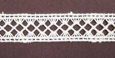 Organic Cotton Lace, 21mm - Natural