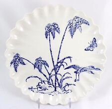 FAB ANTIQUE HAND PAINTED BLUE WHITE AESTHETIC CABINET PLATE COPELAND SPODE CHINA