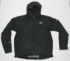 THE NORTH FACE MEN'S SHELL HOODIE JACKET XL BLACK FLIGHT SERIES WINDSTOPPER