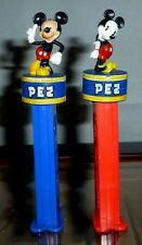 PEZ Mickey and Minnie Mouse Dispensers Full Body Figures