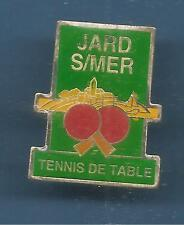 Pin's pin TENNIS DE TABLE JARD SUR MER (ref 037C)