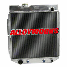 4 Row Aluminum Radiator FOR Ford 60-65 64 63 62 Falcon / Ranchero V8 Engine swap