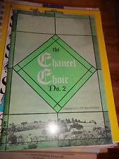 SMPB The Chancel Choir No.2 (1961 Cliff Barrows) Songbook Religious Devotional