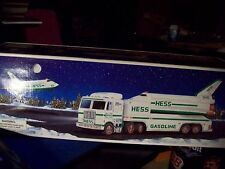 1999 HESS SPACE SHUTTLE w/ SATELLITE and TOY TRUCK new in box FREE SHIPPING