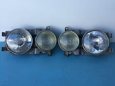 1978-1985 Mercedes Benz 240D 300D Left Right Headlight Assembly Used