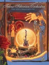 TRANS-SIBERIAN ORCHESTRA LOST CHRISTMAS EVE - PIANO/VOCAL/GUITAR SONGBOOK 701156