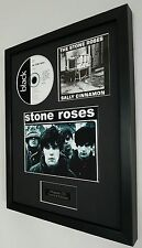 The Stone Roses Framed Original CD Sally Cinnamon-Edition-Metal Plaque-Ian Brown
