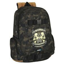 OFFICIAL Tony Hawk Skateboard Deluxe Large Backpack Rucksack Travel School Bag