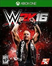 Xbox One 1 WWE W2K16 Wrestling 2016 NEW Sealed Region Free USA 2K16