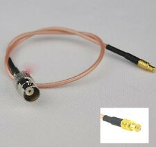 MCX male to BNC Female  RG316 pigtail for RTL-SDR dongles - UK Seller