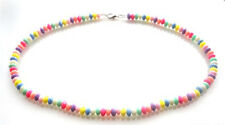 HANDMADE DOLLY BEAD CANDY NECKLACE - STUNNING GORGEOUS PRESENT COMES IN A BOX