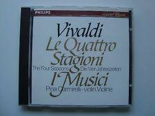VIVALDI - LE QUATTRO STAGIONI / I MUSICI PINA CARMIRELLI / CD PHILIPS W. GERMANY