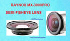 Raynox MX-3000 Wide Fisheye Lens 0.3X for Canon GL1 GL2