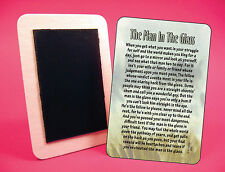 """The Man In The Glass"" - Poem - Fridge Magnet - SKU# 802"