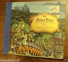 Frances Greer, Al Goodman Or on 78 rpm RCA Victor Album K-8 The Student Prince