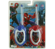 SPIDERMAN ELECTRONIC WALKIE TALKIE PLAY SET 2 WAY RADIO CONTROL KID CHILDREN TOY