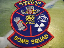 Minneapolis Police Bomb Squad patch