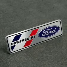 Powered By Ford Aluminum Badge Decal Sticker Motorsports For Ford Fiesta Figo