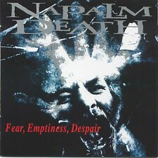 "Napalm Death ""Fear Emptiness Despair"" CD - NEW!"
